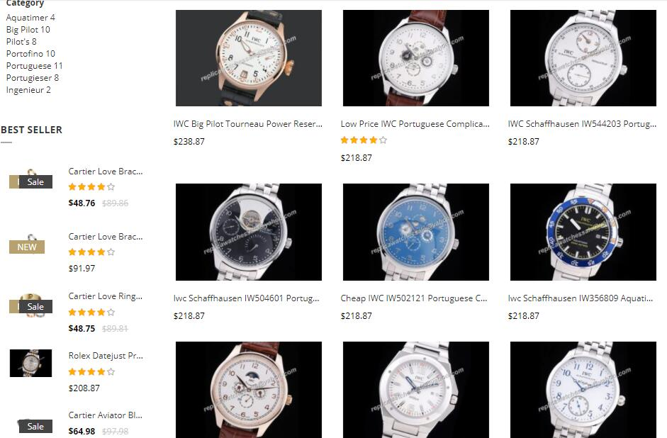 quality replica IWC watches sale price
