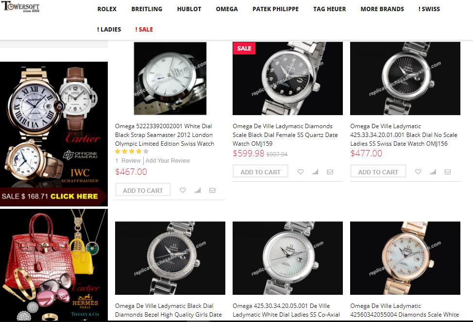 high quality replica Omega watches sale