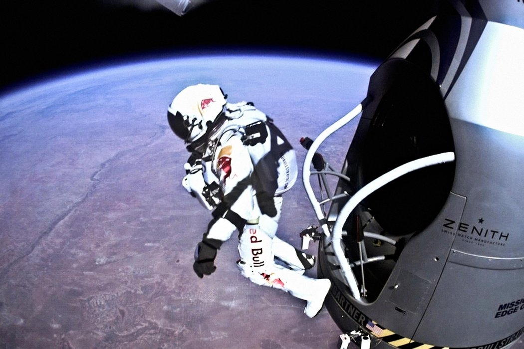 Felix Baumgartner and Zenith