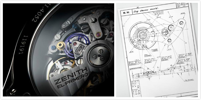 Zenith El Primero movement design